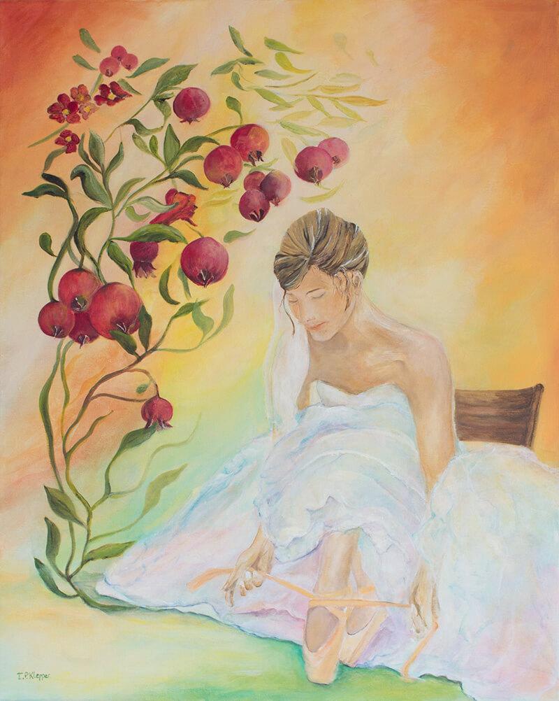 Schilderij 'Vruchtbaarheid' (November 2015) IP Klepper